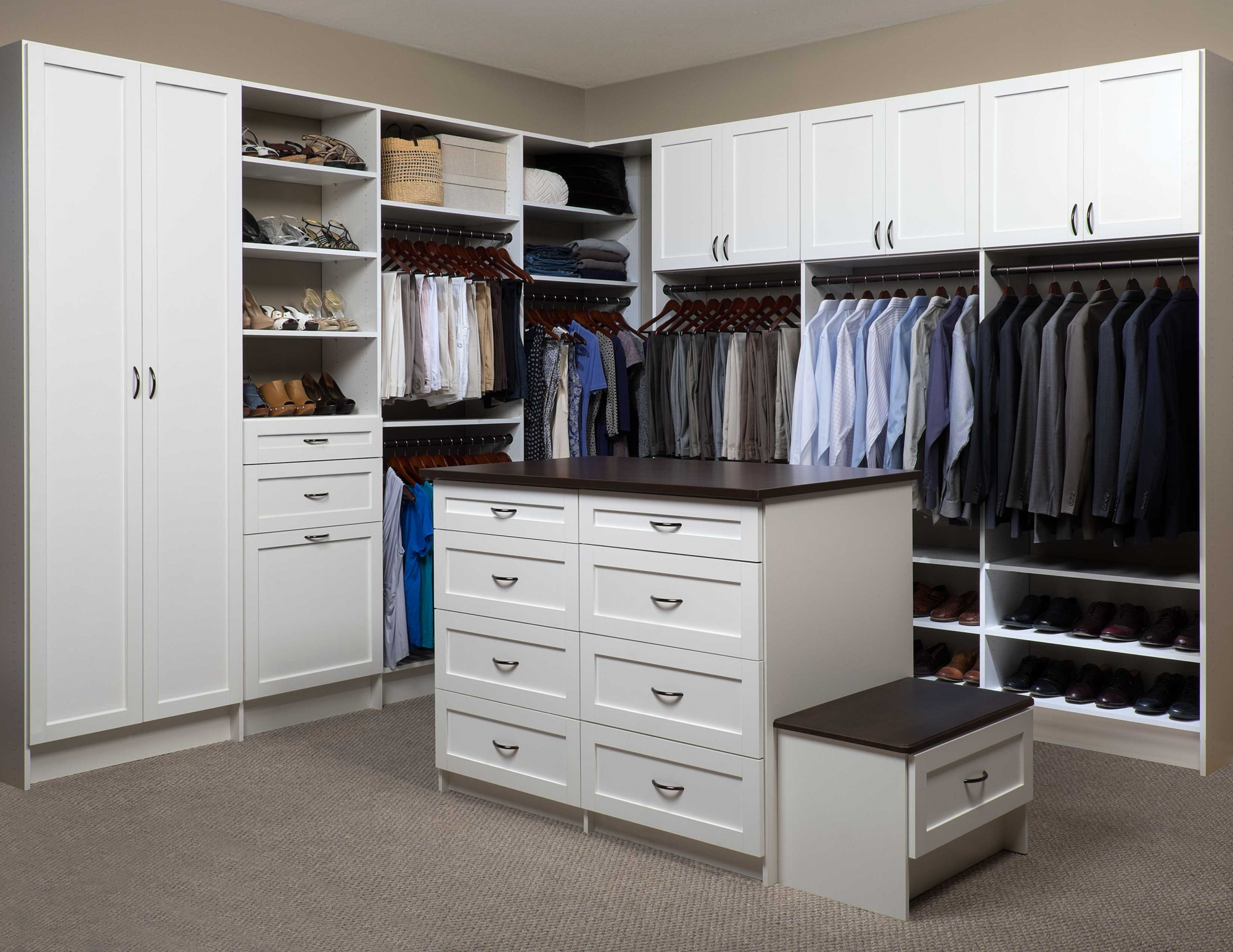 Our Dedication To Customer Service Begins With A No Cost Consultation;  During Which, We Will Show You Many Options For Increasing The Space In  Your Closets.