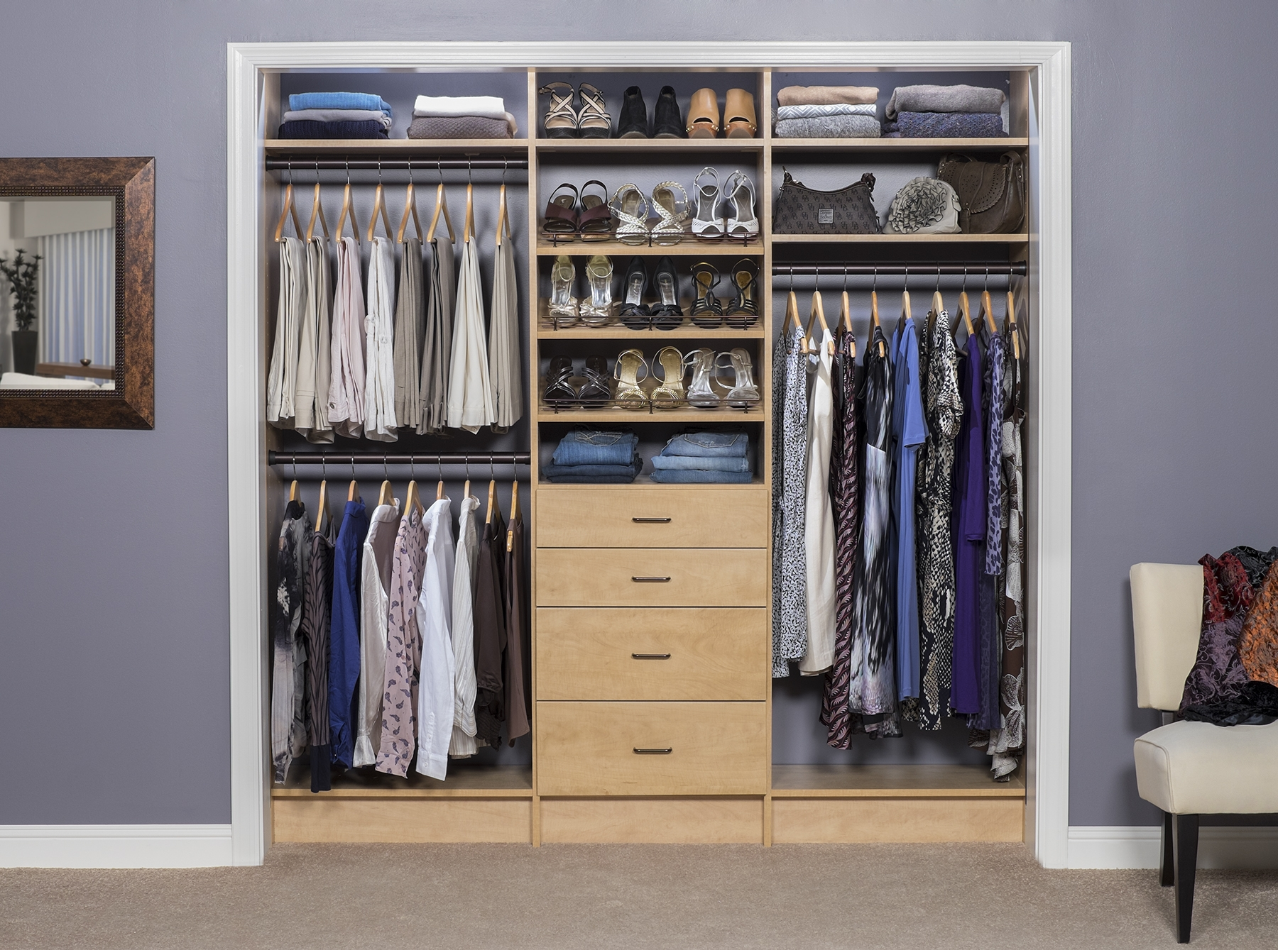 Bedroom Design With Walk In Closet