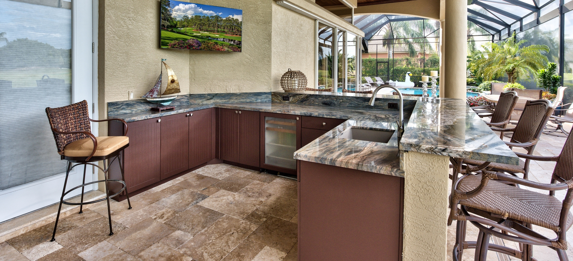 Outdoor Kitchen Design Installation Premier Showcase Fort Myers